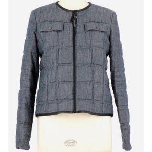 Comptoire Des Cotonniers Linen Denim Jacket
